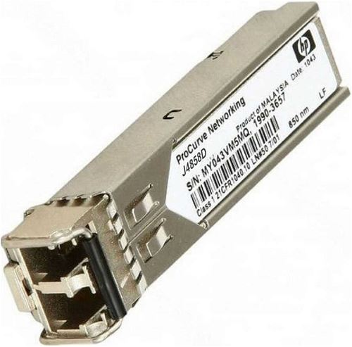 HP X121 1G SFP LC MM SX Transceiver J4858C