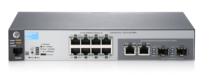Hpe Aruba 2530 8g Switch J9777a